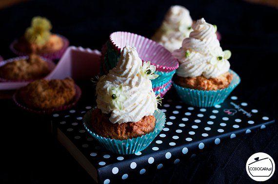 Muffiny z ajerkoniakiem