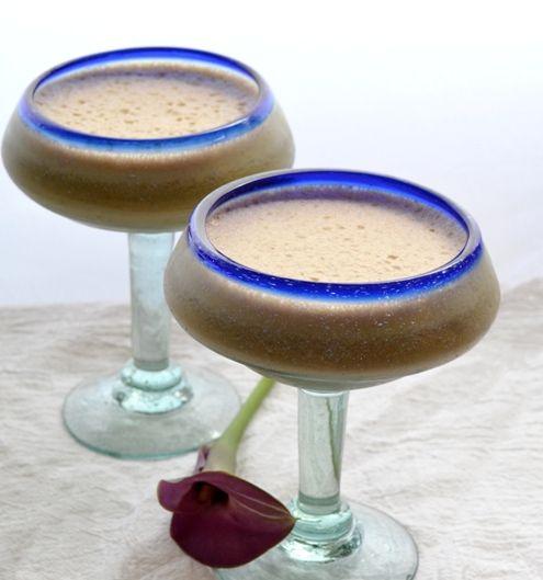 koktajl kawowo-bananowy