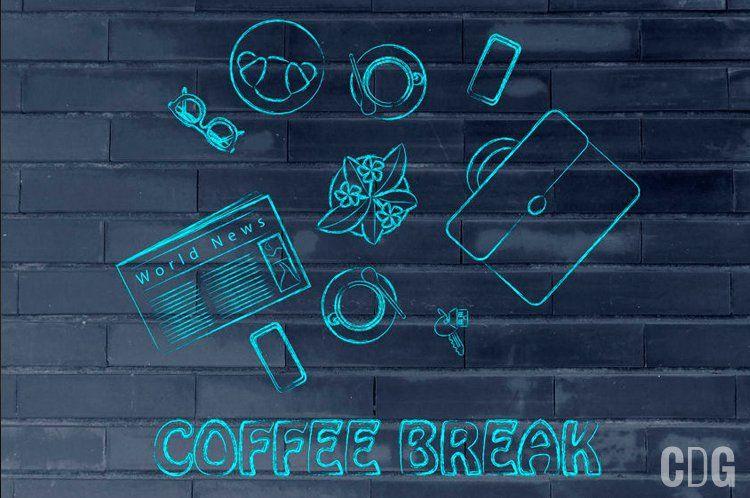 Coffee break grafika