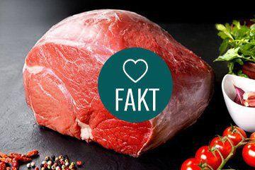kawałek czerwonego mięsa