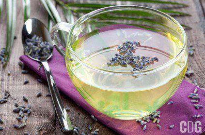 Lawendowa herbata
