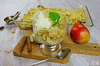 Jabłka i gruszki pod kruszonką 3