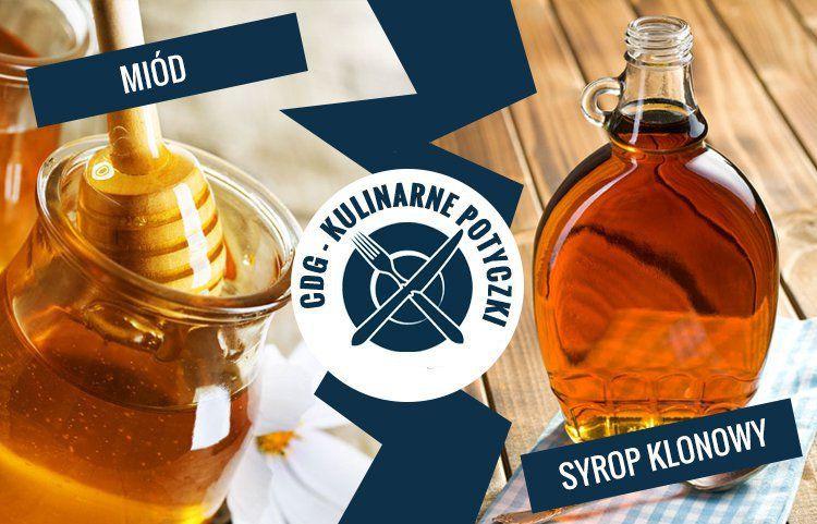 miód vs syrop klonowyiko