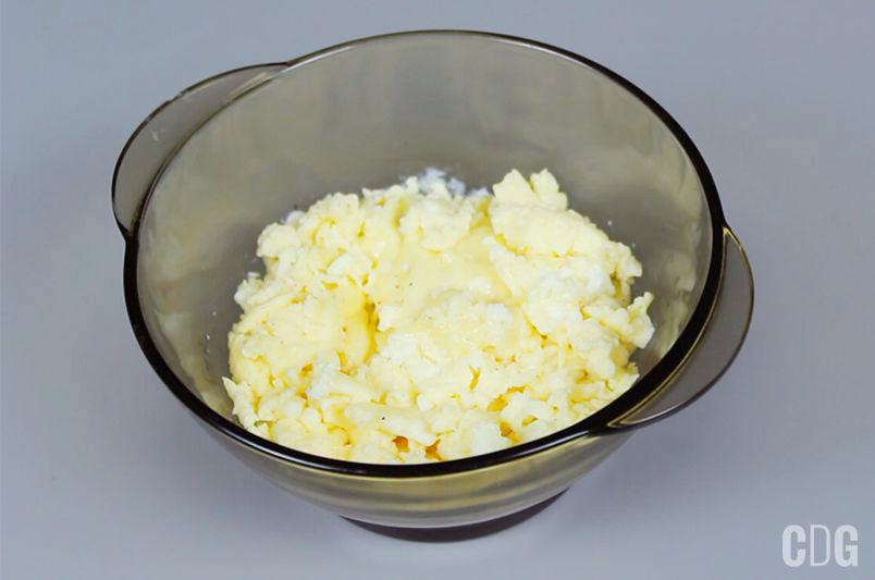 Jajecznica przygotowana w mikrofalówce