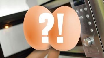 Jak zrobić jajko w mikrofalówce?