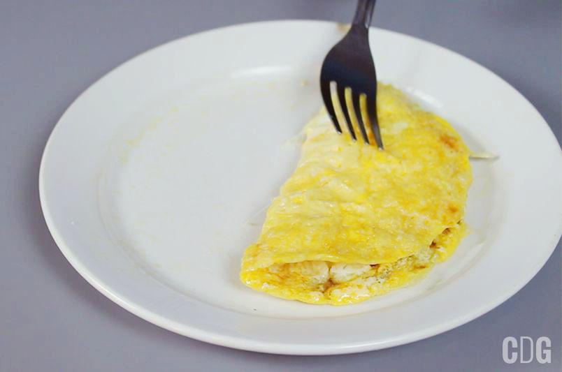 Omlet w mikrofalówce