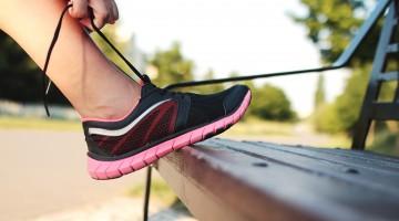 sznurowanie buta